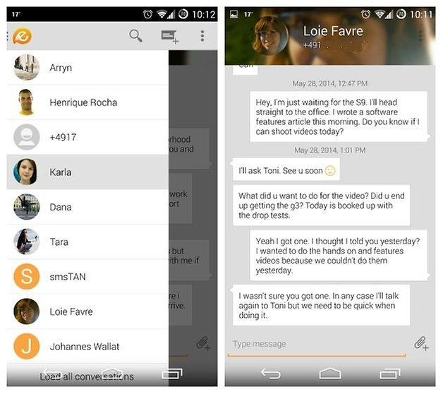 AndroidPIT Evolve SMS 1