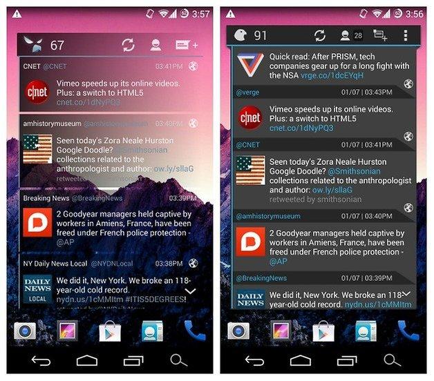 AndroidPIT Falcon Pro Comparison