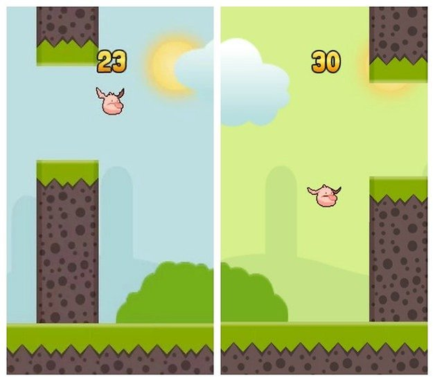 AndroidPIT Flappy Tappy
