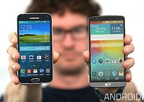 LG G3 vs Galaxy S5 (part 1): design, display and UI [Update: video]