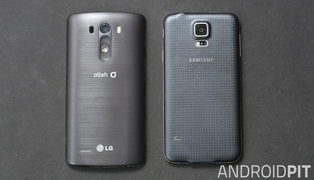 samsung galaxy s5 vs lg g3 performances ou. Black Bedroom Furniture Sets. Home Design Ideas