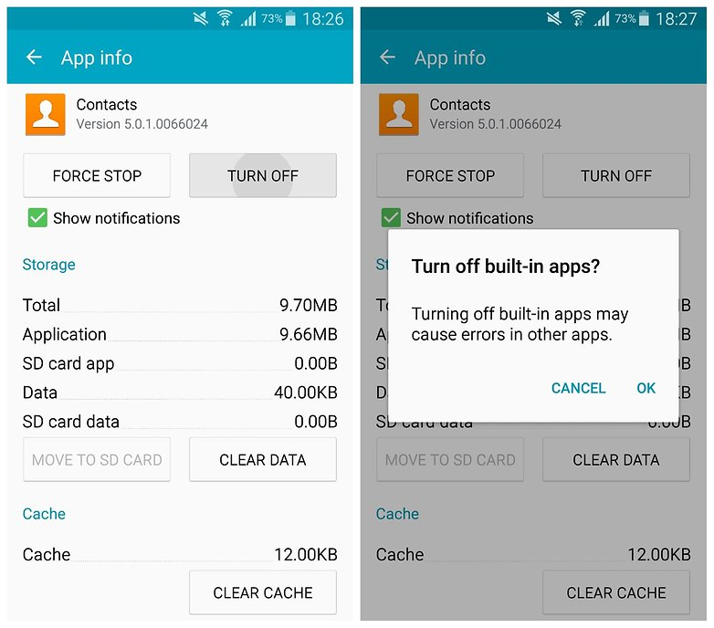 AndroidPIT Galaxy Note 34 TouchWiz turn off app contacts