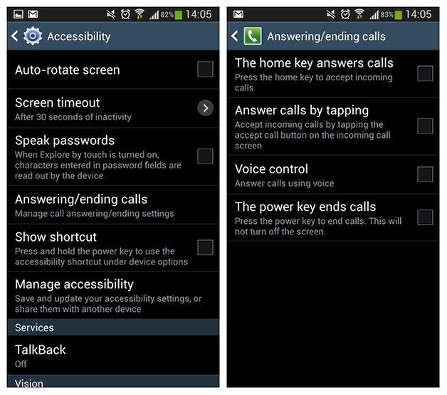 AndroidPIT Galaxy S4 Accessibility 1