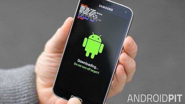 AndroidPIT Galaxy S5 download mode odin