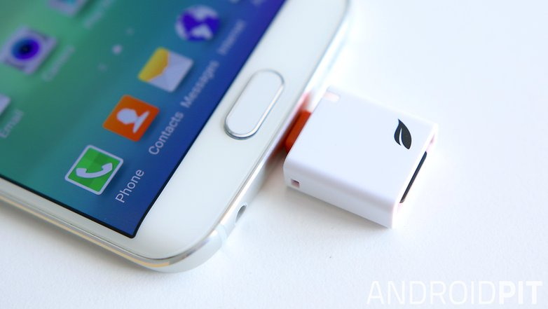 AndroidPIT Galaxy S6 Edge storage solutions Leef Access