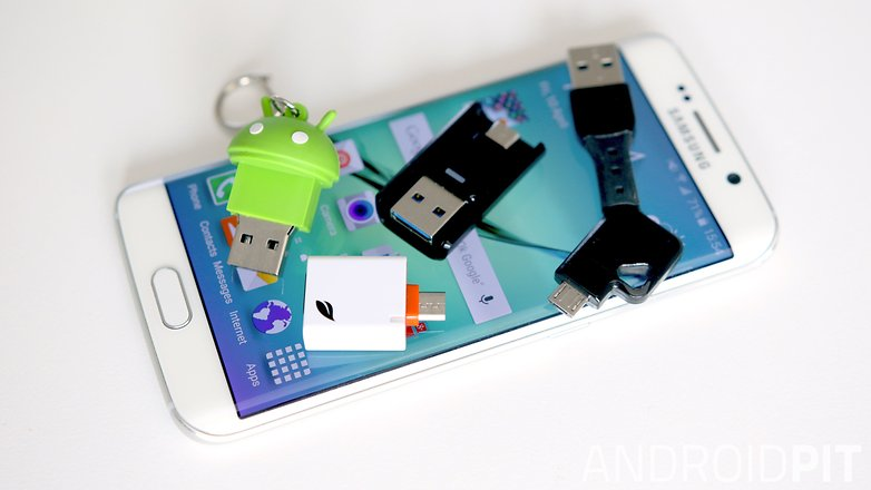AndroidPIT Galaxy S6 Edge storage solutions teaser