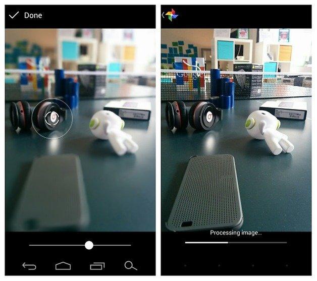AndroidPIT Google Camera Lens Blur