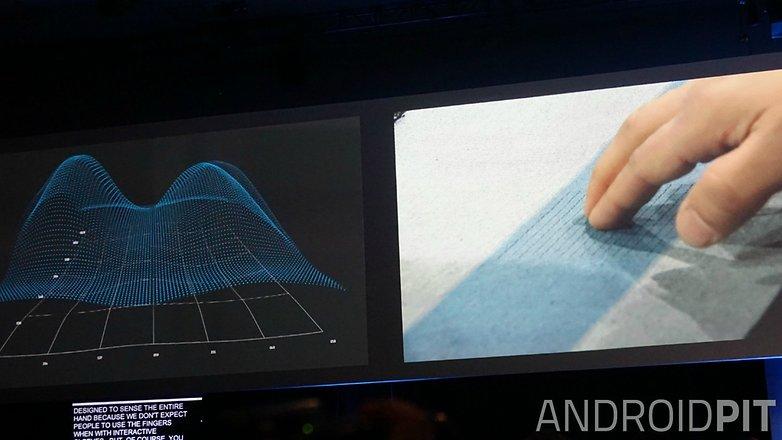 AndroidPIT Google I O 2015 ATAP Project Jacquard touch sensor