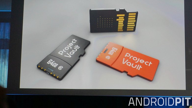 AndroidPIT Google I O 2015 ATAP Project Vault microSd cards