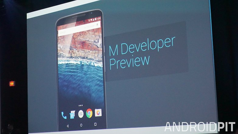 AndroidPIT Google I O 2015 Android M Developer Preview