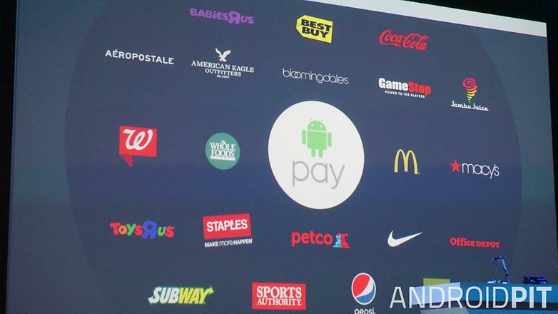 AndroidPIT Google I O 2015 Android Pay partners