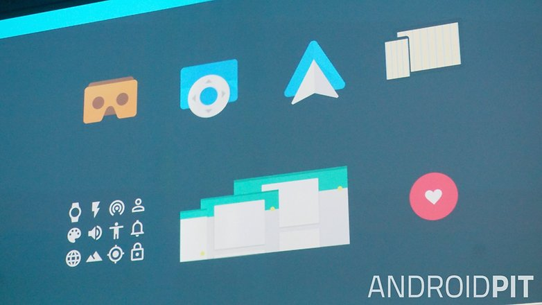 AndroidPIT Google I O 2015 Material Design icon examples