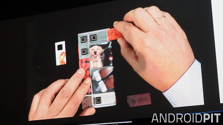 AndroidPIT Google I O 2015 Project Ara assembly