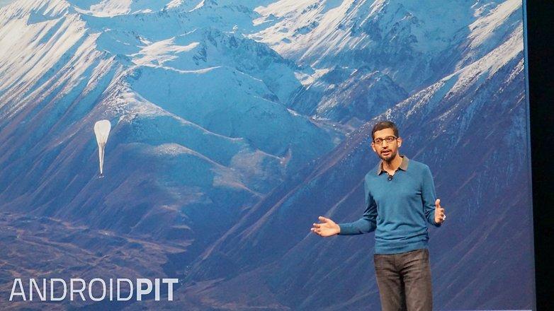 AndroidPIT Google I O 2015 Project Loon Sundar Pichai