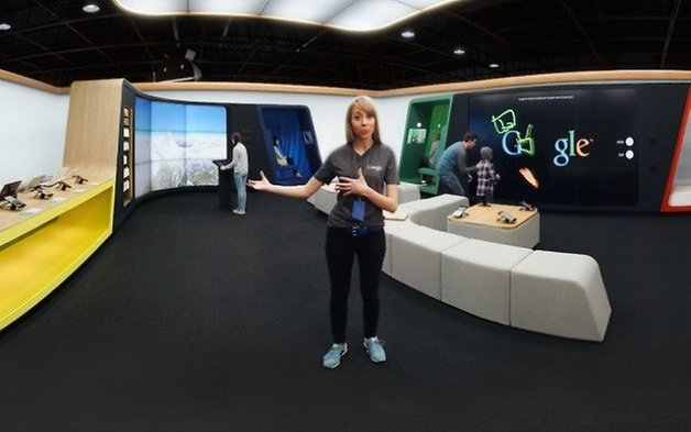 AndroidPIT Google Shop VR app tour