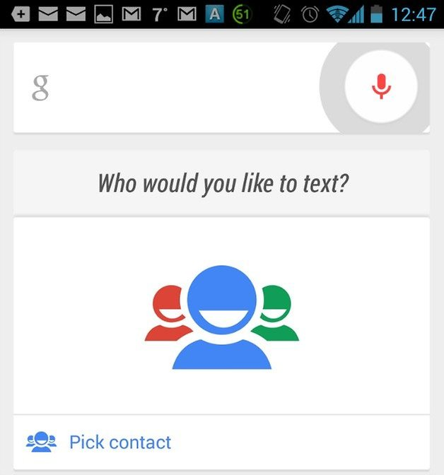 AndroidPIT Google Voice Search