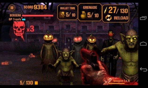 AndroidPIT Gun Zombie Halloween