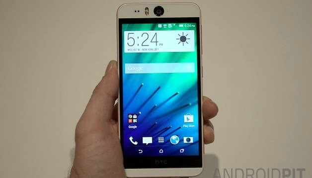 Hands on: HTC Desire Eye review: better quality selfies are