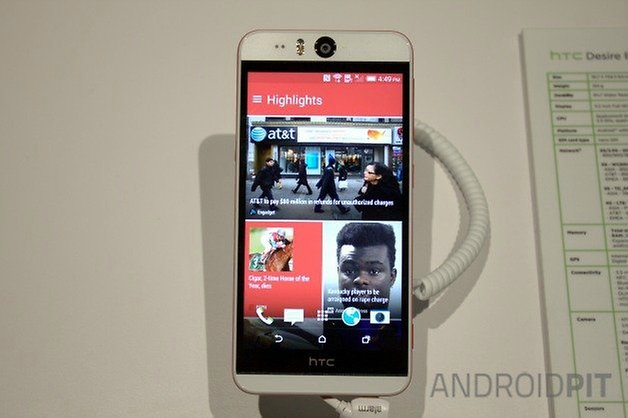 AndroidPIT HTC Desire Eye 4
