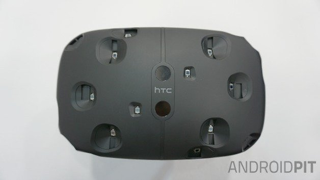 AndroidPIT HTC Vive VR headset front sensors