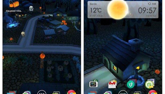 Hautend Village 3D, gratis solo oggi lo sfondo animato per Halloween!