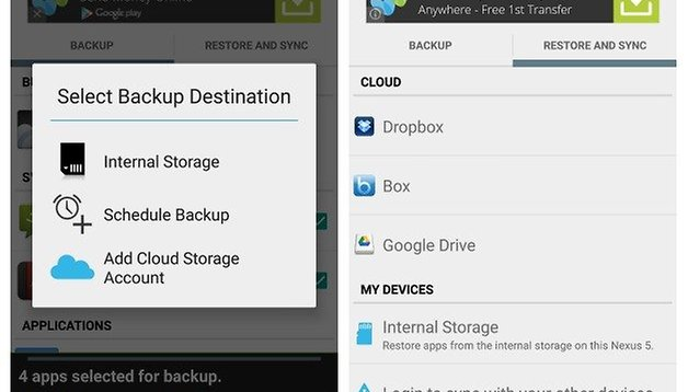 How to backup and restore app data with or without root | AndroidPIT