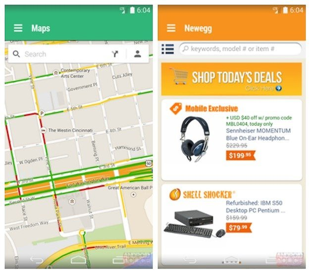 AndroidPIT Hera Maps Newegg