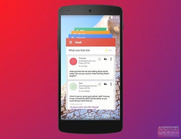 AndroidPIT Hera Multitasking