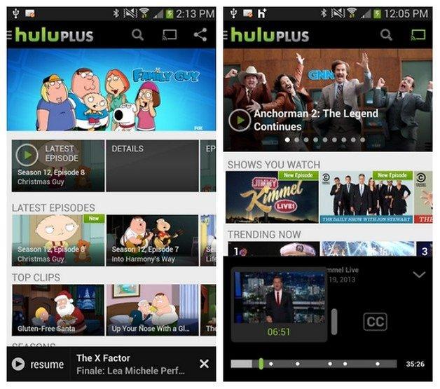 AndroidPIT Hulu Plus