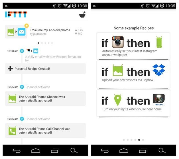 AndroidPIT IFTTT 2