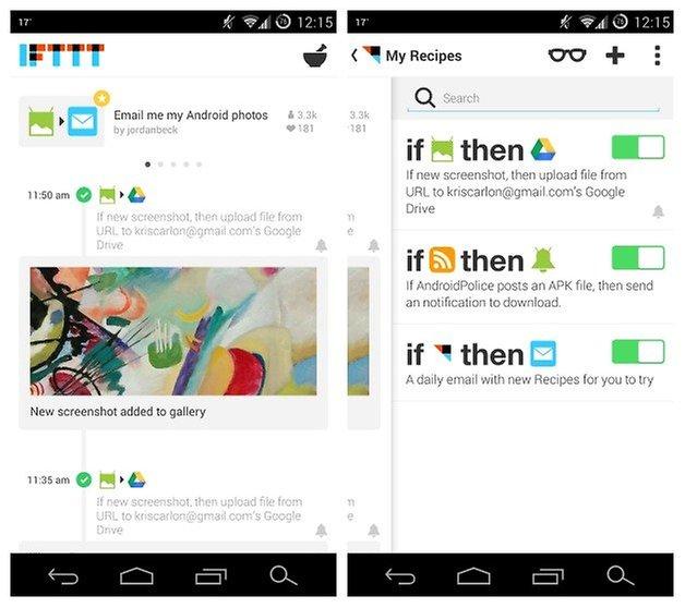 AndroidPIT IFTTT Tutorial 1