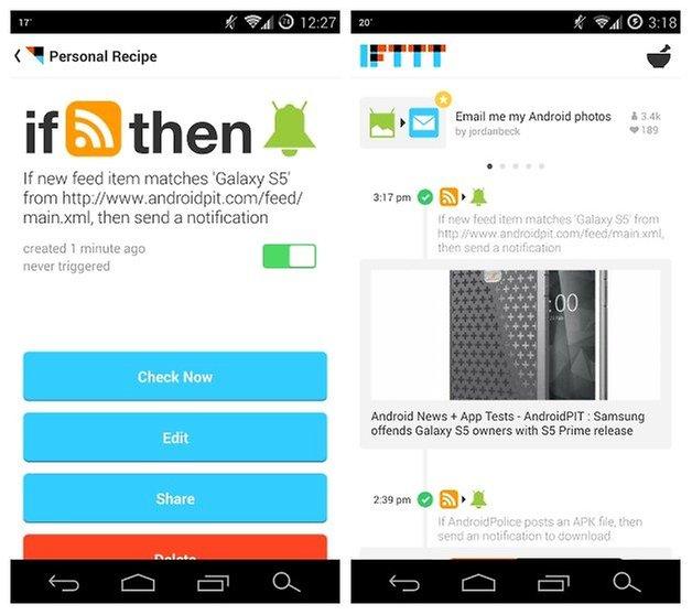 AndroidPIT IFTTT Tutorial 5