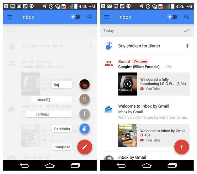 AndroidPIT Inbox by Gmail compose reminder