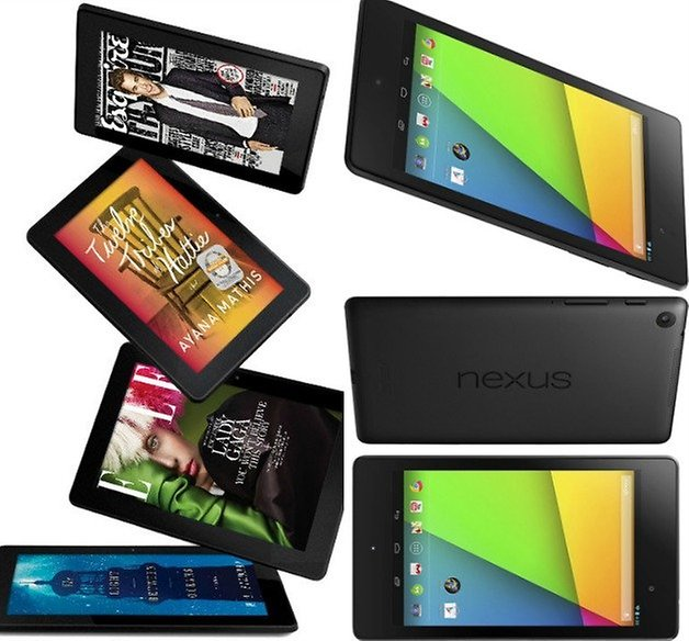 AndroidPIT Kindle Fire HDX Nexus 7
