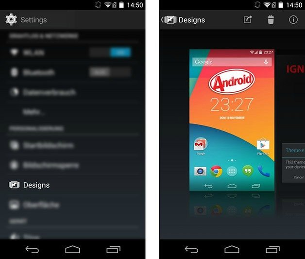 AndroidPIT KitKat CustomROM theme