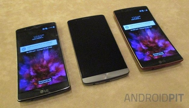 LG G Flex 2 vs. LG G3 - a elite da LG em comparação