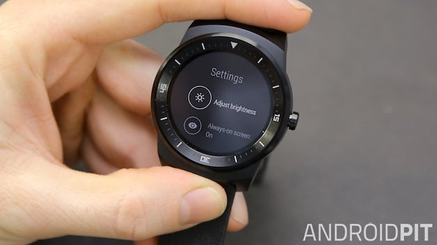 AndroidPIT LG G Watch R 3