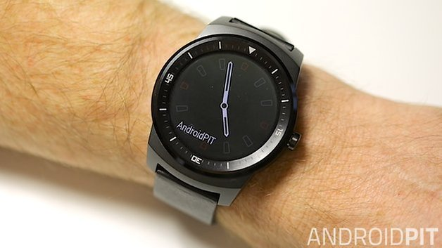 AndroidPIT LG G Watch R Always On Mode