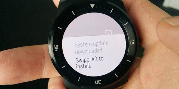 AndroidPIT LG G Watch R update