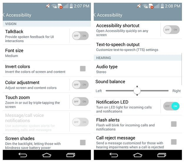 AndroidPIT LG G2 Accessibility 1