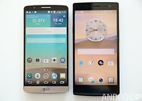 LG G3 vs Oppo Find 7: the QHD horizon approaches