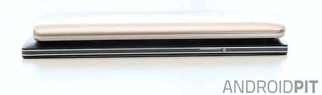 AndroidPIT LG G3 Oppo Find 7 side