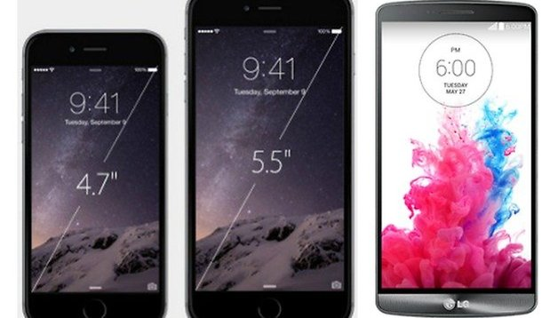 iPhone 6 Plus vs LG G3: can Apple design beat Android power?