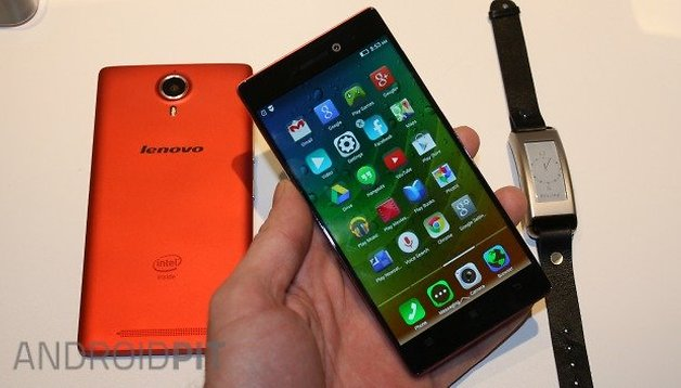 Lenovo's new Android offerings: the Vibe X2 Pro and P90 smartphones