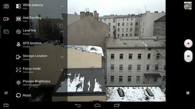 AndroidPIT Lenovo Yoga Tab 2 Pro camera