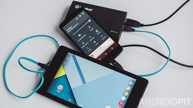 AndroidPIT Limefuel 4 USB 2
