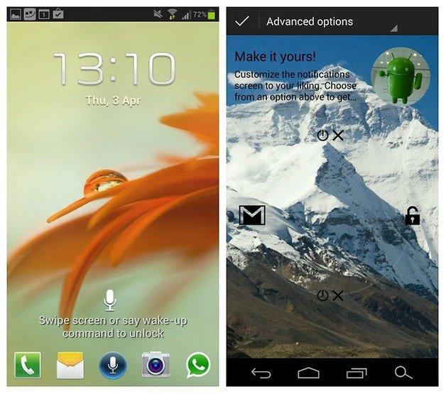AndroidPIT Lockscreen icons