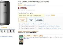 Get an HTC One M8 for $150 upfront via Amazon