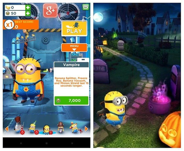 AndroidPIT Minion Rush