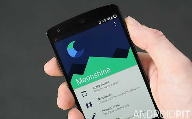 AndroidPIT Moonshine App